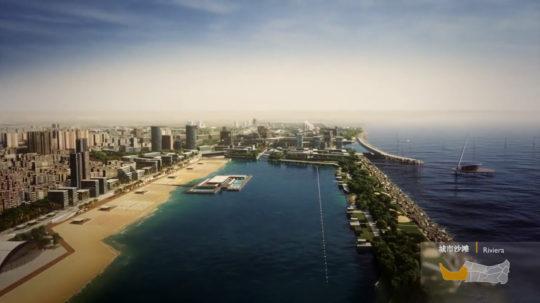 GALA - La dolce vita - Jinshan Marina Urban Planning