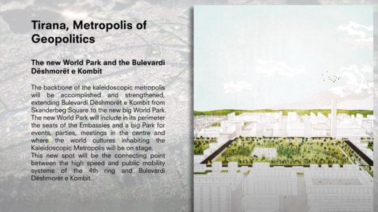 Stefano Boeri Architetti - Tirana2030